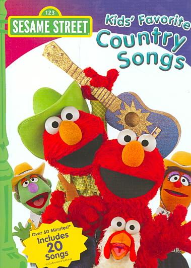 KIDS FAVORITE COUNTRY SONGS BY SESAME STREET (DVD)